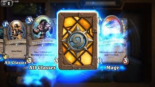 Master Swordsmith - Classic Hearthstone rare card pack opening