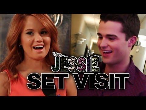 "Debby Ryan & Spencer Boldman ""Jessie"" On Set Interview - ""Break-Up and Shape-Up"""