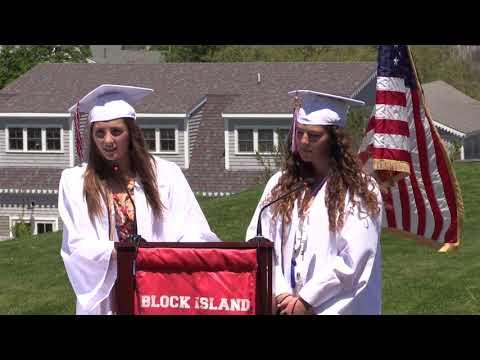 Block Island School Graduation - BI Hurricanes Video