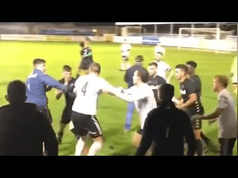 Friendly between Rhyl and Leeds United Under-23s abandoned after melee