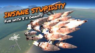 KSP Gravity is Fun - Ep 56 - Kerbal Space Program - Marcus House - Stock Parts