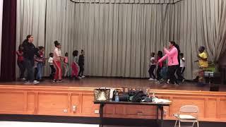 Kids dance plena