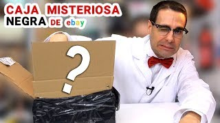 Abriendo Caja Misteriosa NEGRA de Ebay 📦❓   Caja Sorpresa