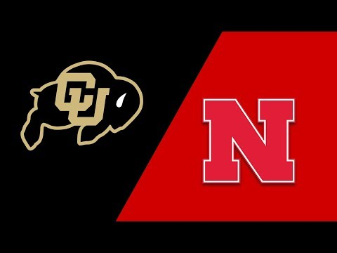 Week 2 2018 Colorado vs Nebraska Highllights Sept 8 2018