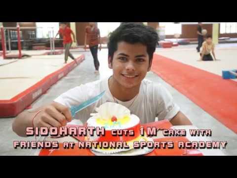 Siddharth Nigam Celebrates his 1 Million Followers at National Sports Academy