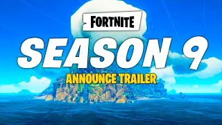season 9 trailer how to get battle pass skins free epic games fortnite new map theme official - epic games fortnite season 9