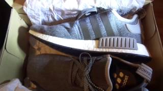 "ADIDAS -  UNBOXING AND REVIEW ""WINTER WOOL"" BOOST SHOES"