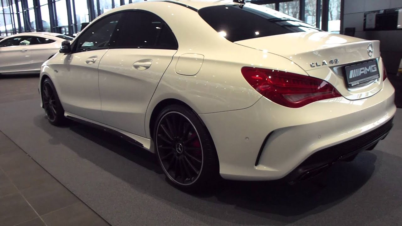 2016 mercedes cla 45 amg 4matic coupe 39 2 0 r4 turbo 360 hp see also playlist youtube. Black Bedroom Furniture Sets. Home Design Ideas