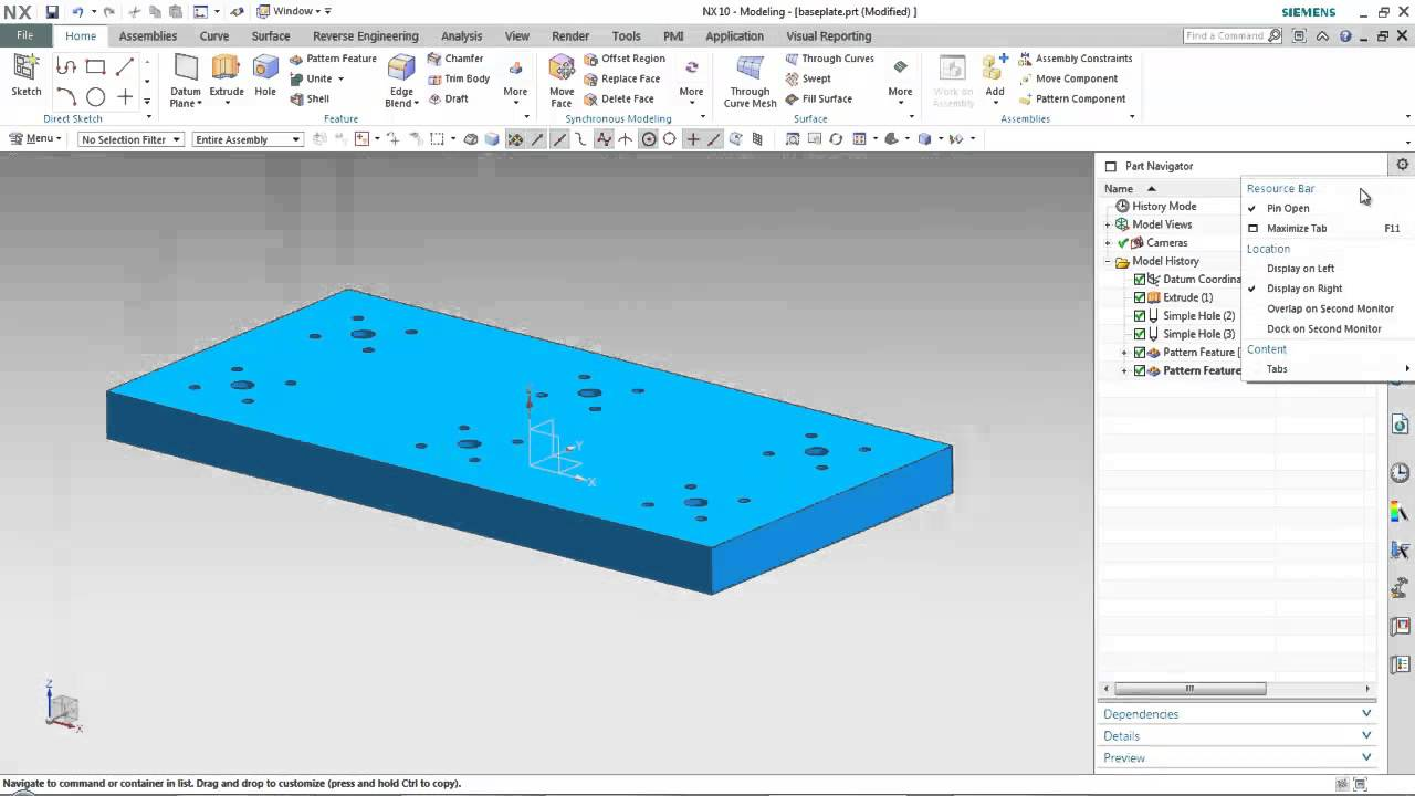 NX CAD - What's New in NX 10 Part 1 - PROLIM PLM Lunch Bytes
