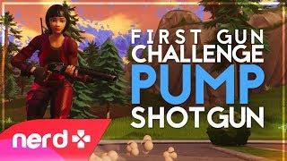 Pump Shotgun & Trap Only Win! | Fortnite Battle Royale | #NerdOut