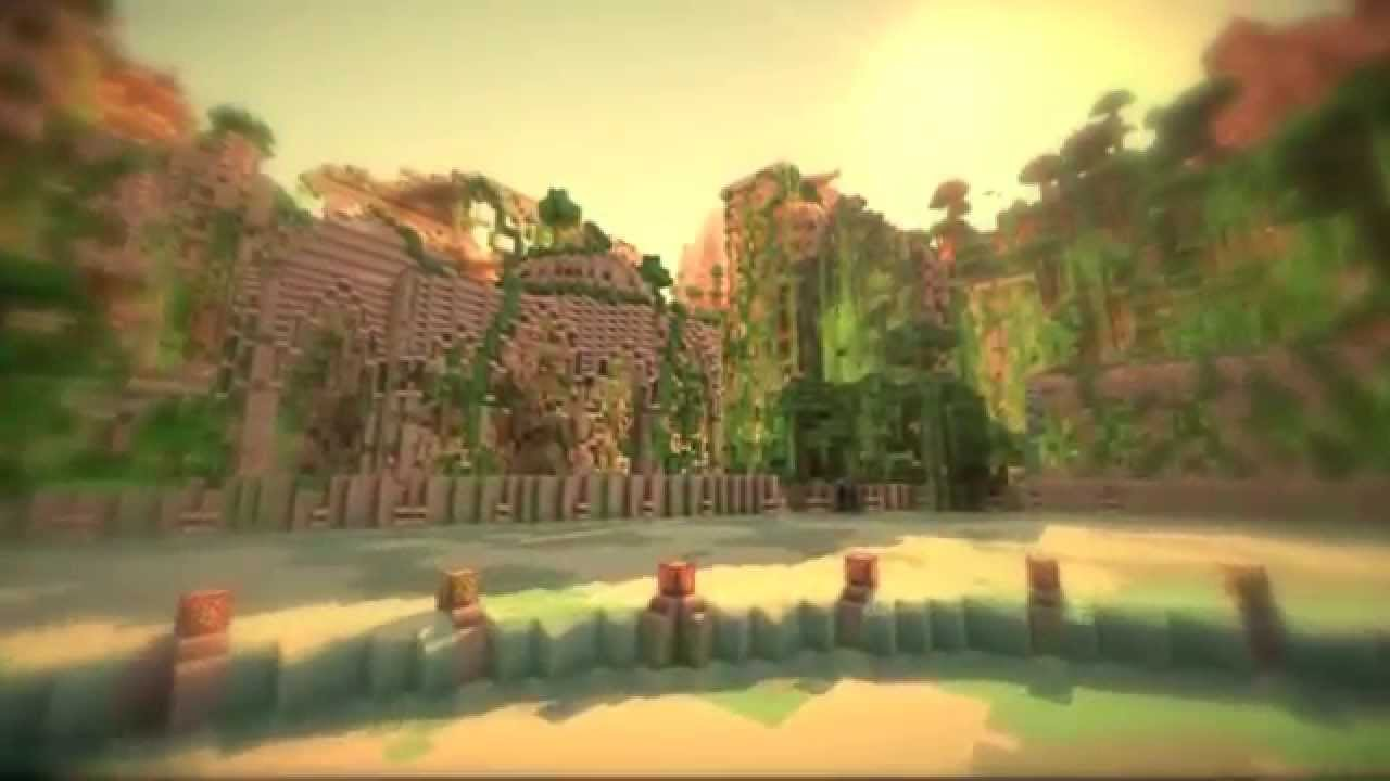 minecraft hunger games map