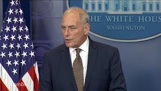 John Kelly Says North Korea Threat Is Manageable