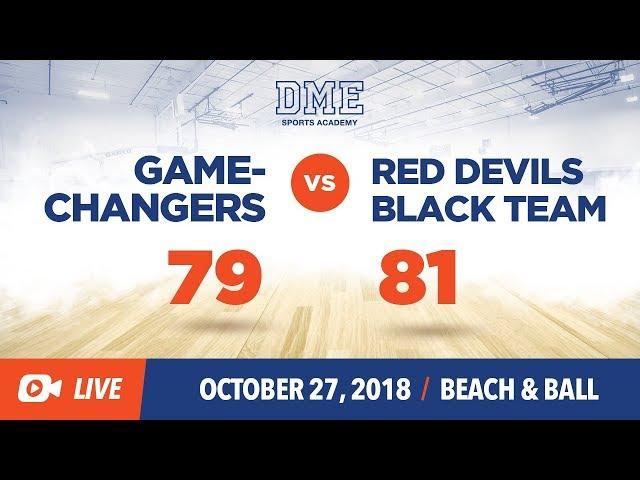 Gamechangers vs Red Devils BL