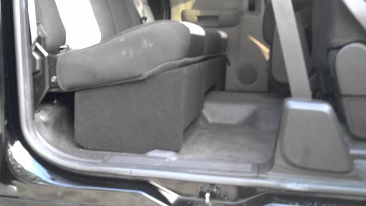 Chevrolet Extended Cab Speaker Box 2007 And Up