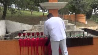 Pai de Santo desmancha ao vivo Amarração Sentimental dentro de um cemitério (11) 2854-2271.