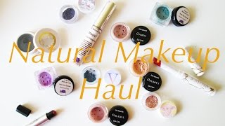 Natural Makeup Haul: Pacifica, The All Natural Face, Brija, And Silk Naturals (vegan/cruelty Free)