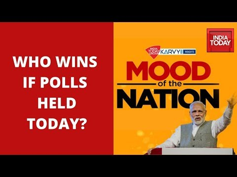 Mood Of The Nation: Who Will Win If Elections Are Held Today? | India Today Exclusive