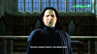 Harry Potter and the Deathly Hallows Part 2 - Minerva vs Snape (Direct PC Capture Gameplay) [HD]