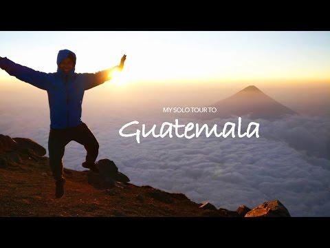 My solo travel to Guatemala