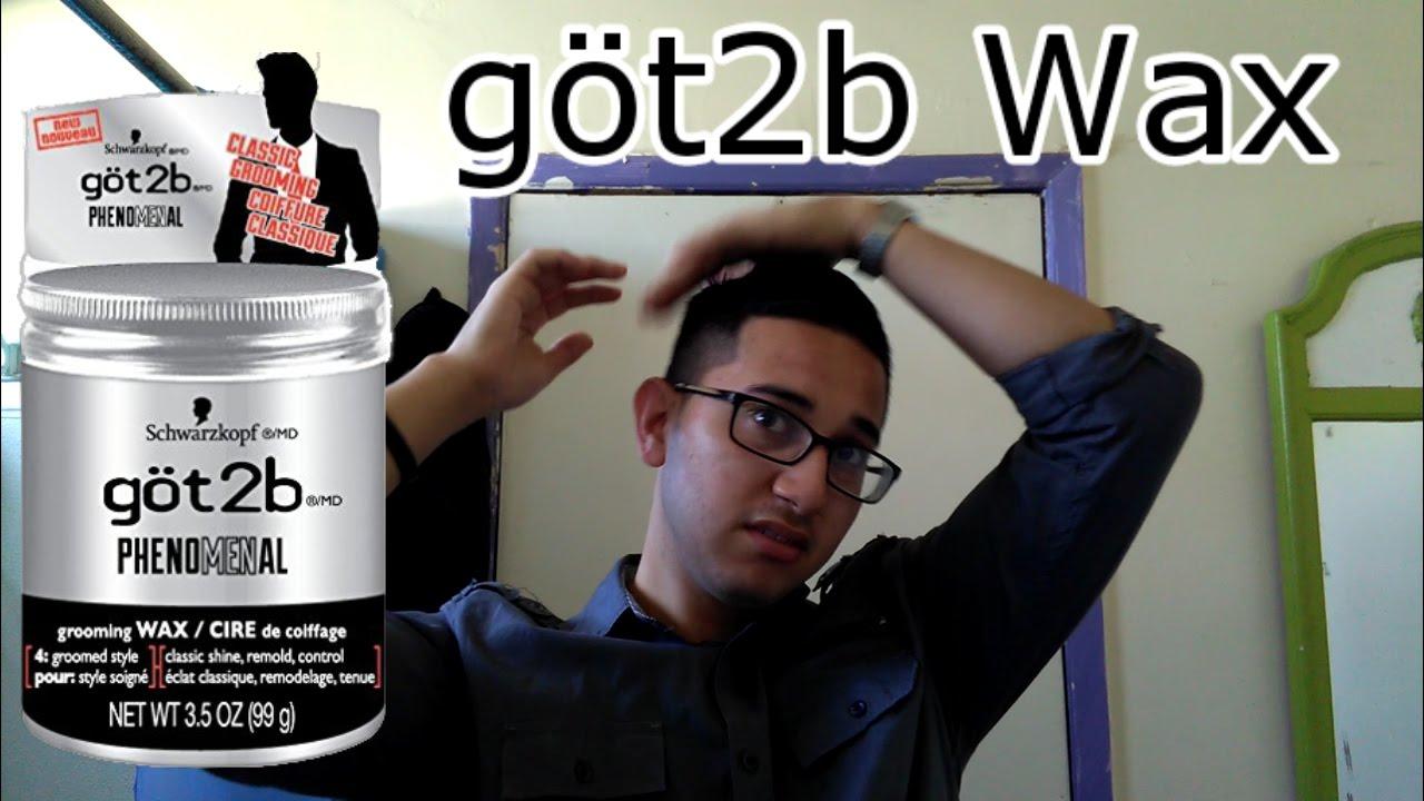 Got2b Phenomenal Molding Paste Review Hairstyle Inspirations 2018 Schwarzkopf Playful Matt Wax First Look You Men Hair Styling Gel Clay Fibre
