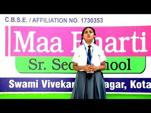 Maa Bharti Sr. sec school , Kota