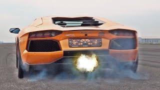 Lamborghini Aventador SOUNDS & FLAMES