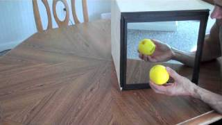 Mirror Box for Finger Pain Relief and Therapy
