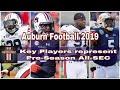 Athlon Sports Rolls out 2019 PreSeason All-SEC Team...Auburn represents