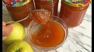 Вкуснейшее Густое Яблочное Повидло Самый Лучший Рецепт!!! / Яблочный Джем  / Apple Jam