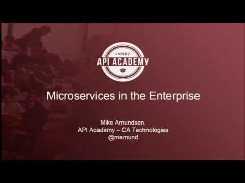 API Academy Tokyo 2016 – 2. Microservices in the Enterprise