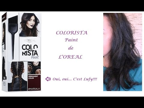 Crash Test Colorista Paint De LOral Avis Dtaill YouTube