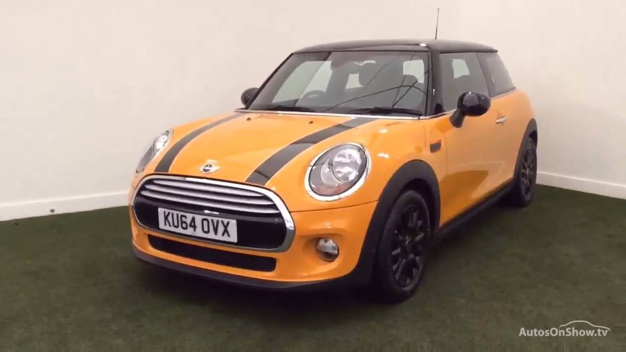 mini hatch cooper orange 2014 youtube. Black Bedroom Furniture Sets. Home Design Ideas