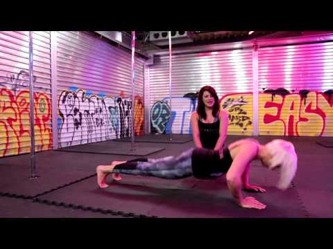 Conditioning exercises for pole dance - beginner and intermediate level