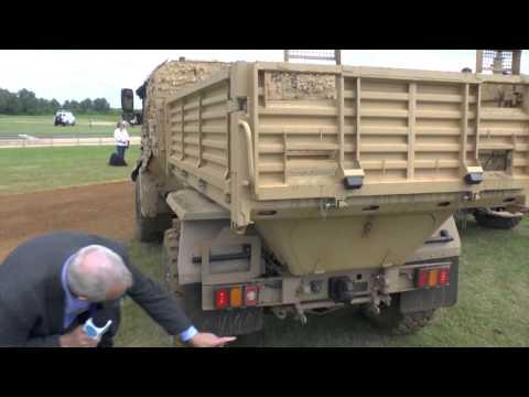 Defence Vehicle Dynamics 2014  - General Dynamics UK Ocelot Utility variant - Christopher F Foss,  E