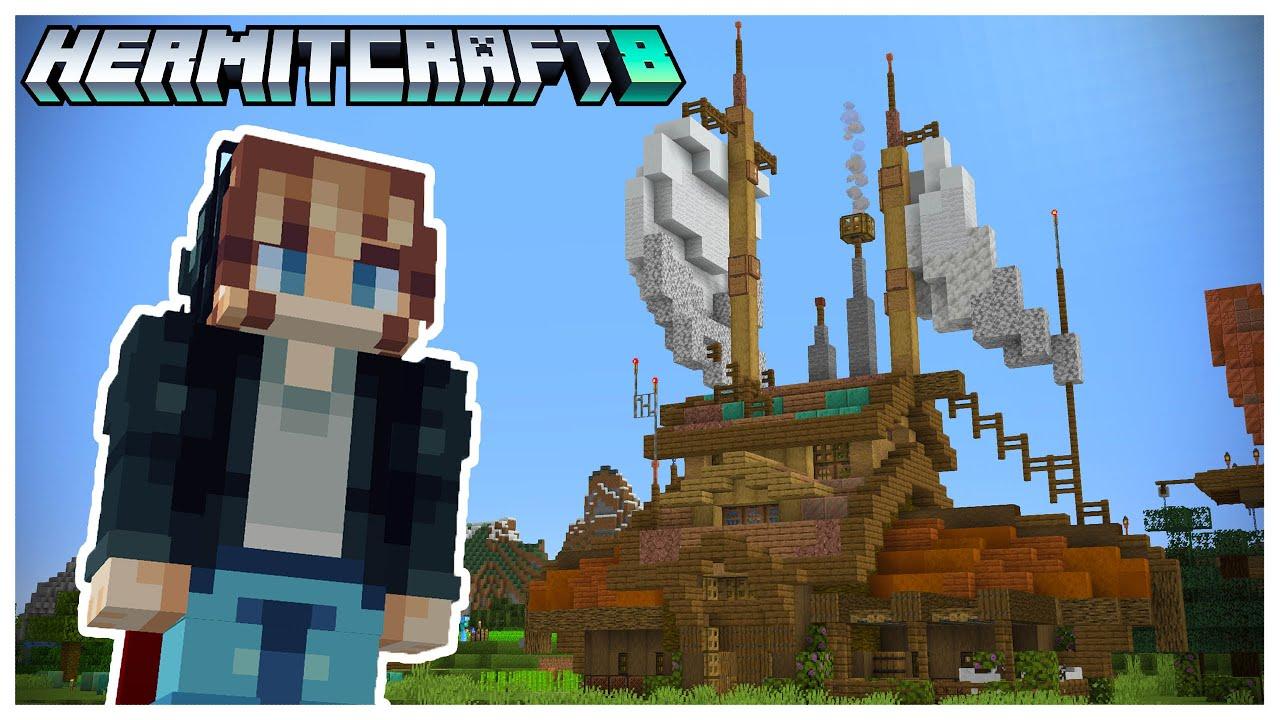 Hermitcraft S8: I joined Hermitcraft!
