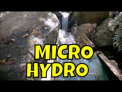 Powerspout Turbine - Tasmanian Micro Hydro Power Station In
