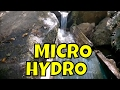 Tasmanian Micro Hydro Power Station In Mountains