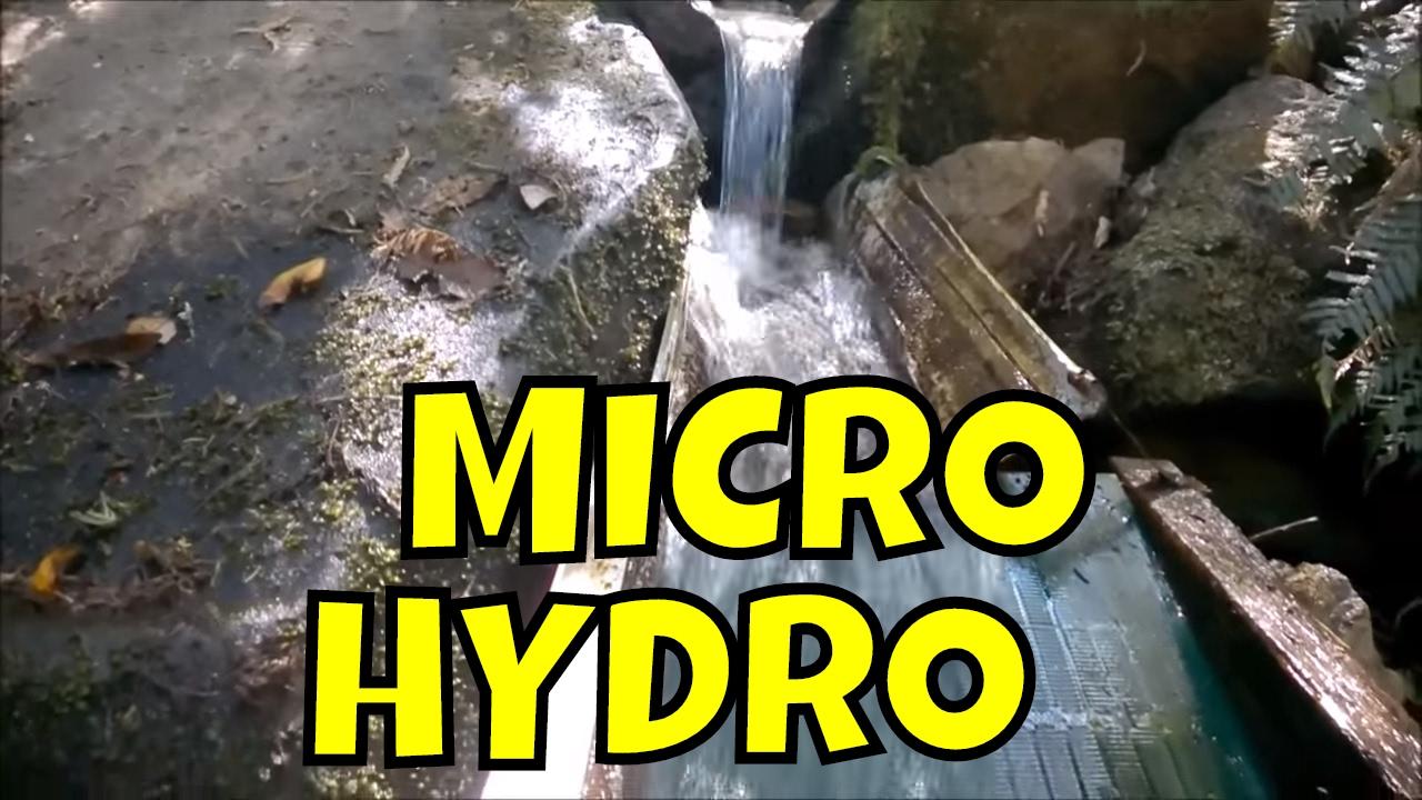 Powerspout Turbine Tasmanian Micro Hydro Power Station