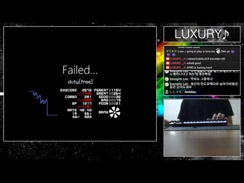 LUXURY♪ Rhythm Game [BMS]