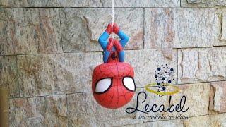 Projeto Heróis da Marvel - Homem Aranha de Biscuit