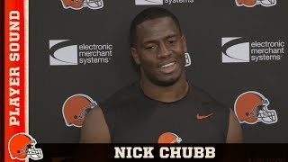 Chubb: I'm trying to be the best running back I can be | Player Sound