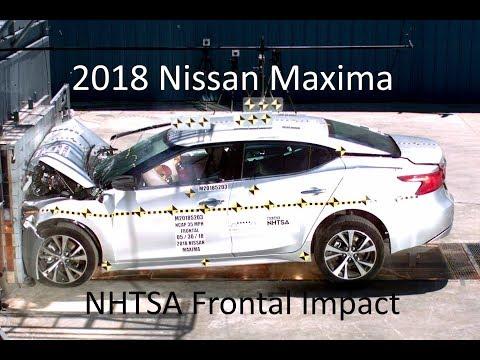 2016-2019 Nissan Maxima NHTSA Frontal Impact