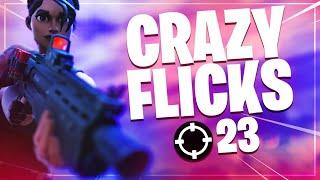 Crazy flicks in this 23 kill solo game! | Fortnite Battle Royale