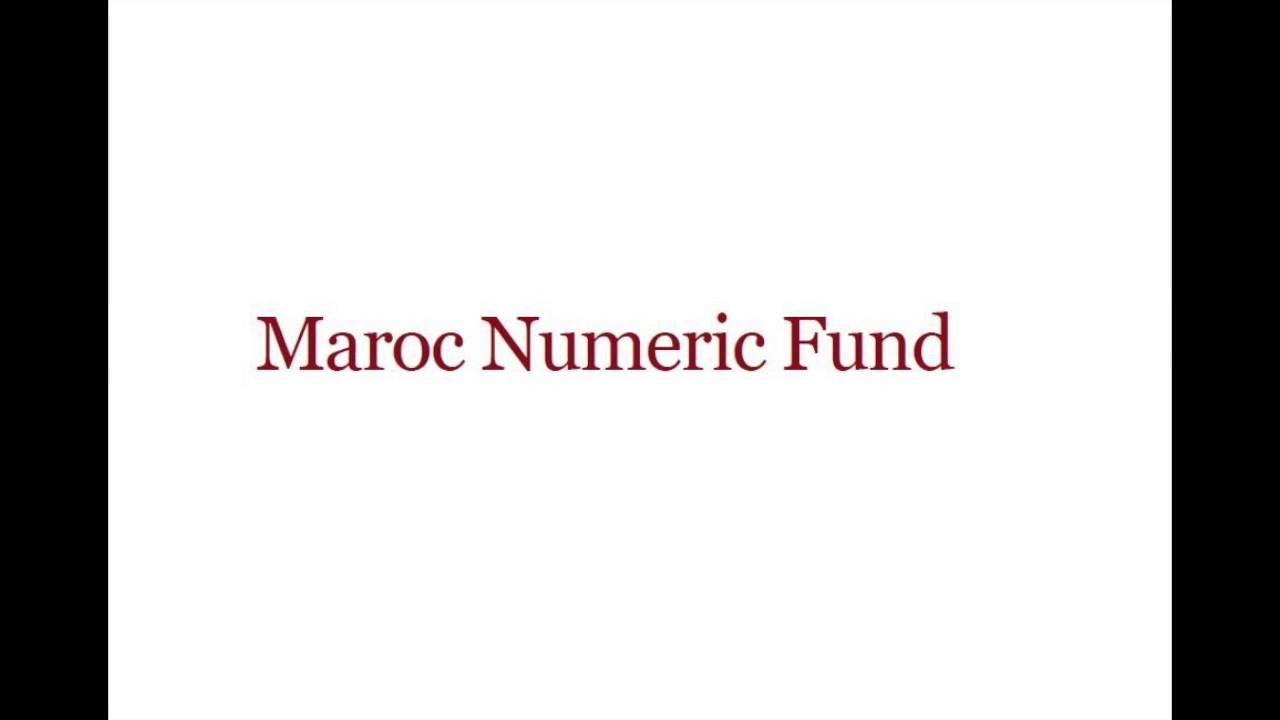 """Résultat de recherche d'images pour """"Maroc Numeric fund"""""""