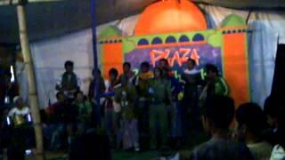 Lagu Kreatif Bangun Sahur Remaja Masjid Ibnul Amin Mahawu (manado) 2012