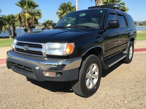 1999 Toyota 4Runner TRD 5SPD 4x4 SUPERCHARGED 4WD Manual USED FOR SALE SAN DIEGO