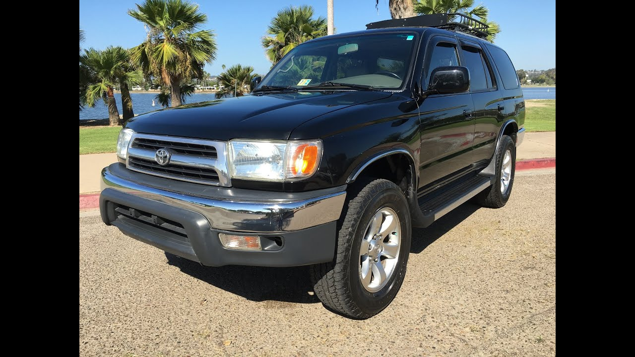 1999 toyota 4runner trd 5spd 4x4 supercharged 4wd manual. Black Bedroom Furniture Sets. Home Design Ideas
