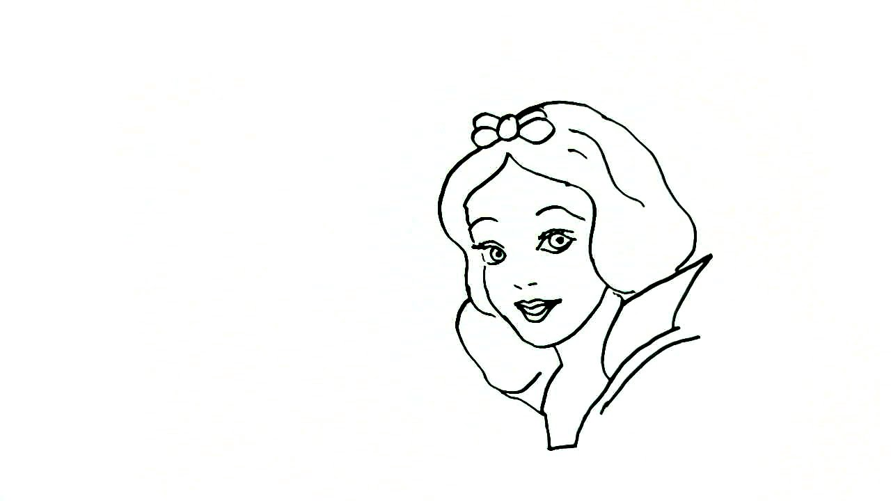 Easy Drawings Of Disney Princesses Step By Step