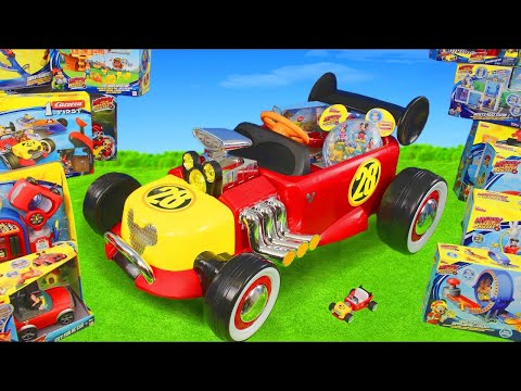 Mickey Mouse Toys: Roadster Racers Ride On Surprise W/ Toy Vehicles & Clubhouse Cars For Kids