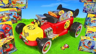 Download Mickey Mouse Toys: Roadster Racers Ride on Surprise w/ Toy Vehicles & Clubhouse Cars for Kids Mp3 and Videos